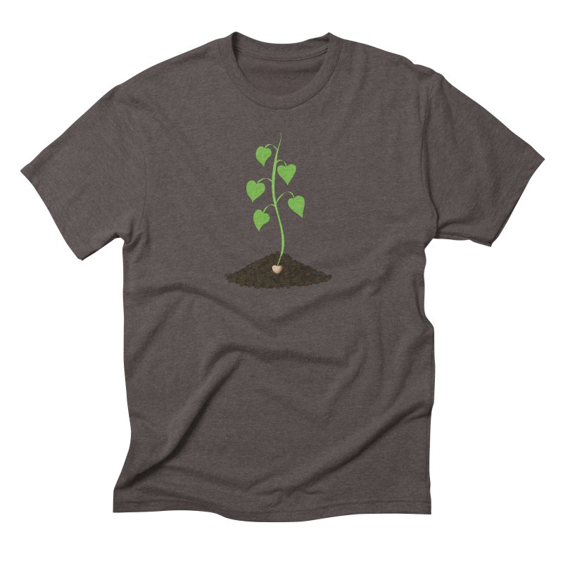 Love grows Men's Triblend T-Shirt by Puttyhead's Artist Shop