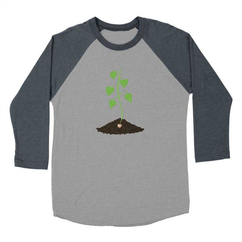 Love grows Women's Baseball Triblend Longsleeve T-Shirt by Puttyhead's Artist Shop