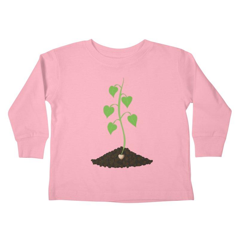 Love grows Kids Toddler Longsleeve T-Shirt by Puttyhead's Artist Shop