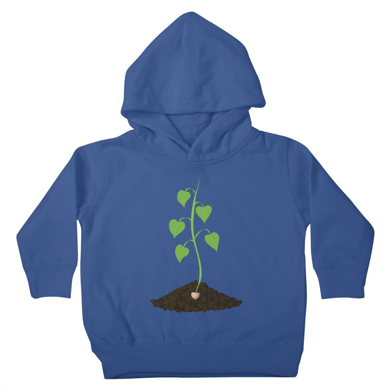 Love grows Kids Toddler Pullover Hoody by Puttyhead's Artist Shop