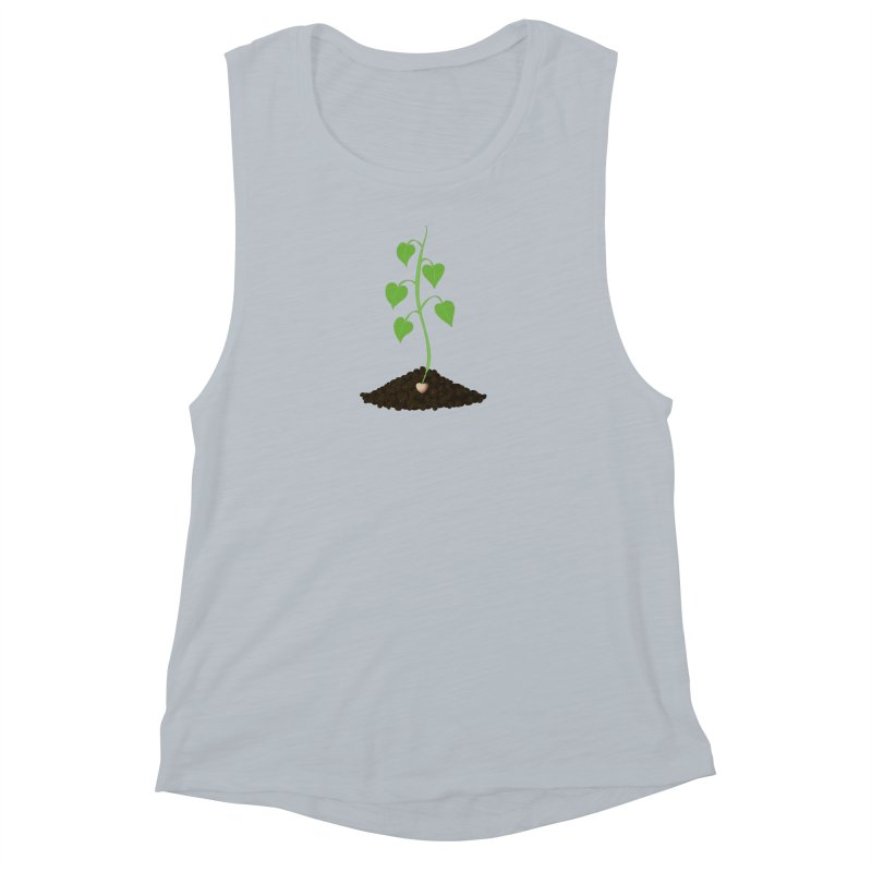 Love grows Women's Muscle Tank by Puttyhead's Artist Shop
