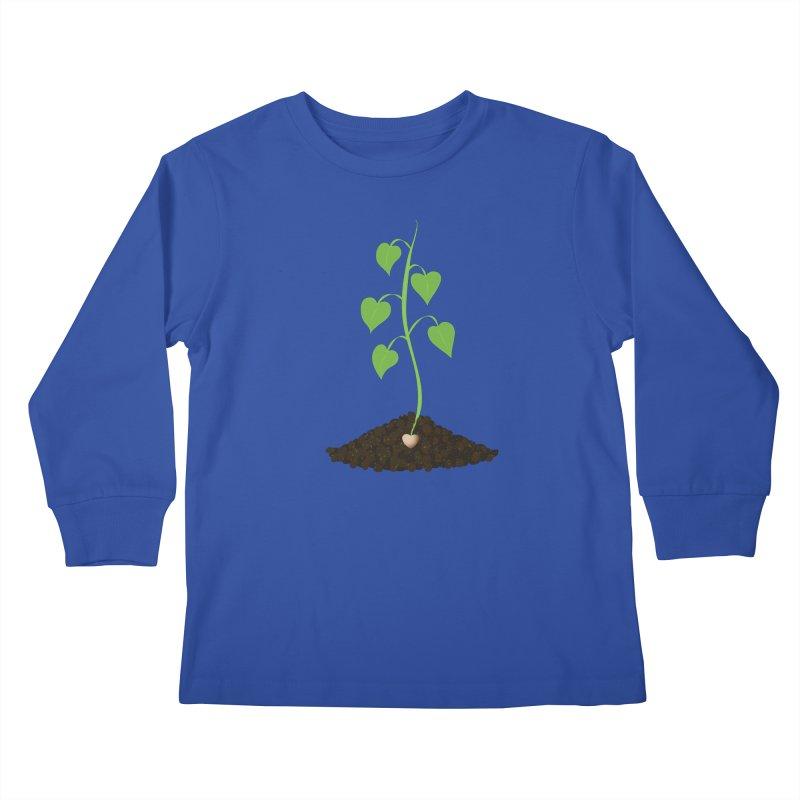 Love grows Kids Longsleeve T-Shirt by Puttyhead's Artist Shop