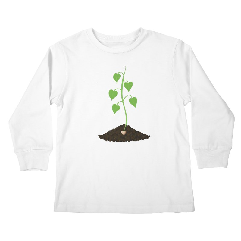 Love grows Kids Longsleeve T-Shirt by Puttyhead's Artist Shop