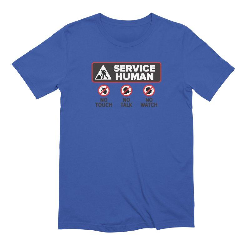 Service Human Men's Extra Soft T-Shirt by Puttyhead's Artist Shop