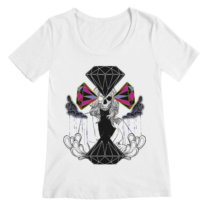 D$D Women's Scoopneck by QIMSTUDIO's Artist Shop