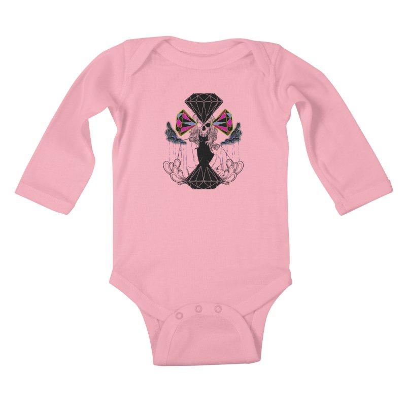 D$D Kids Baby Longsleeve Bodysuit by QIMSTUDIO's Artist Shop