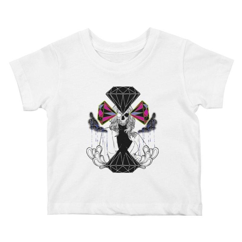 D$D Kids Baby T-Shirt by QIMSTUDIO's Artist Shop