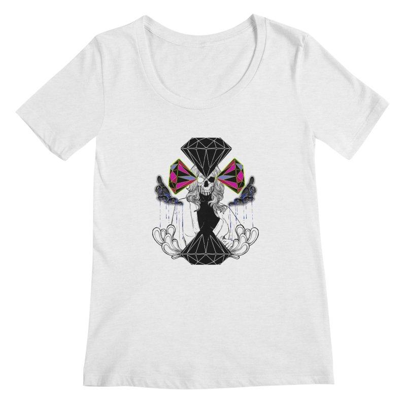 D$D Women's Scoopneck by QIMSTUDIO's Artist Shop
