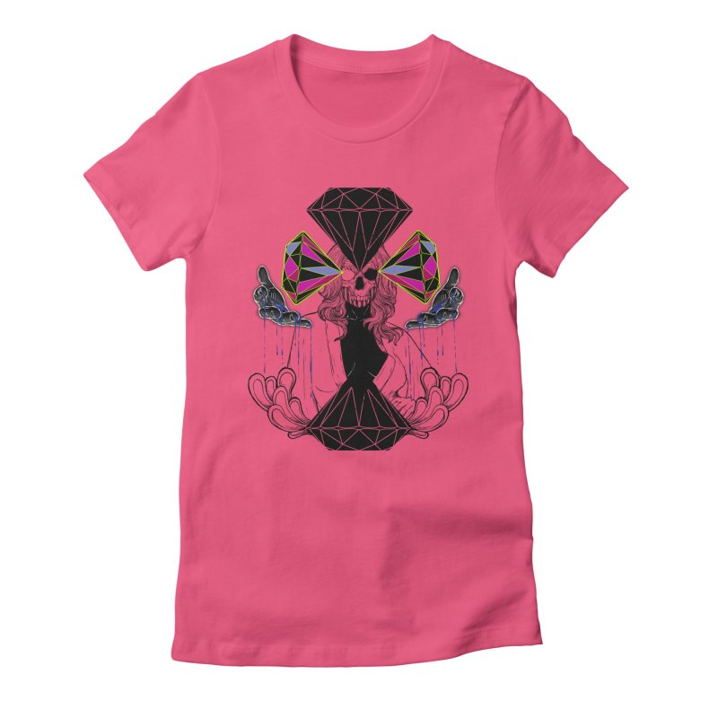 D$D Women's Fitted T-Shirt by QIMSTUDIO's Artist Shop