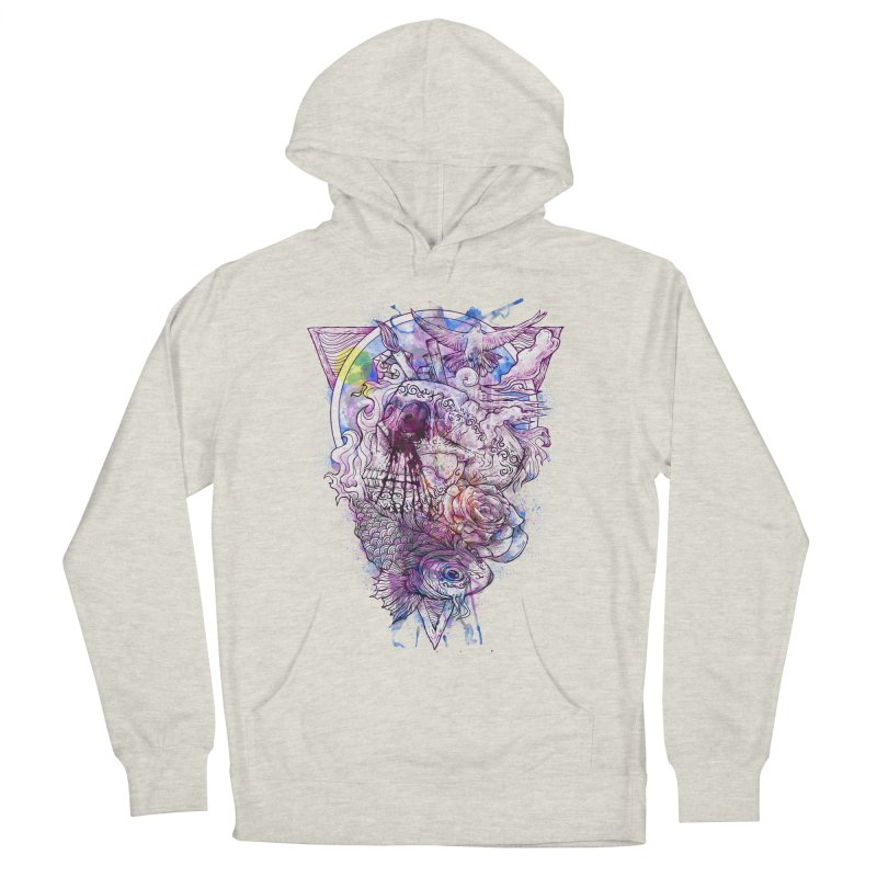 Free Your Mind Women's Pullover Hoody by QIMSTUDIO's Artist Shop