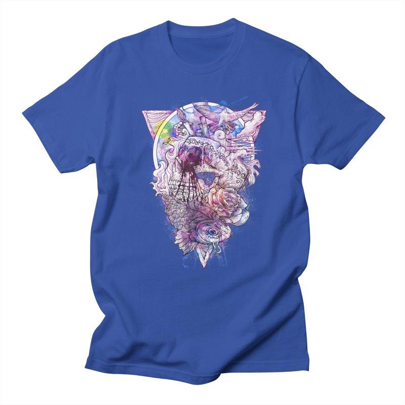 Free Your Mind Men's T-shirt by QIMSTUDIO's Artist Shop
