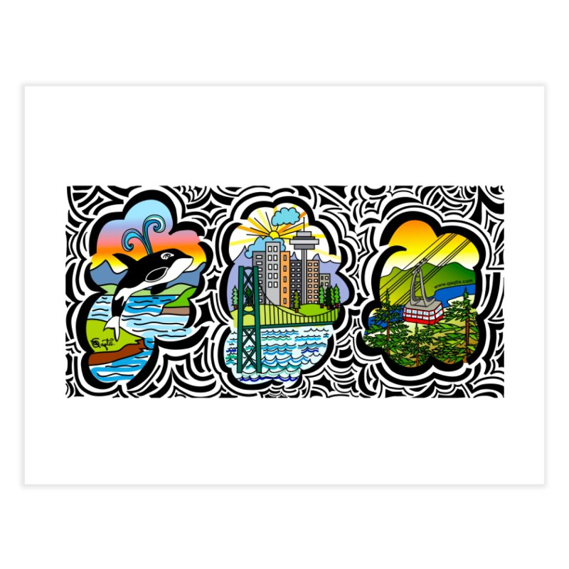 Vancouver in Fine Art Print by The Qaqtis Online Shop