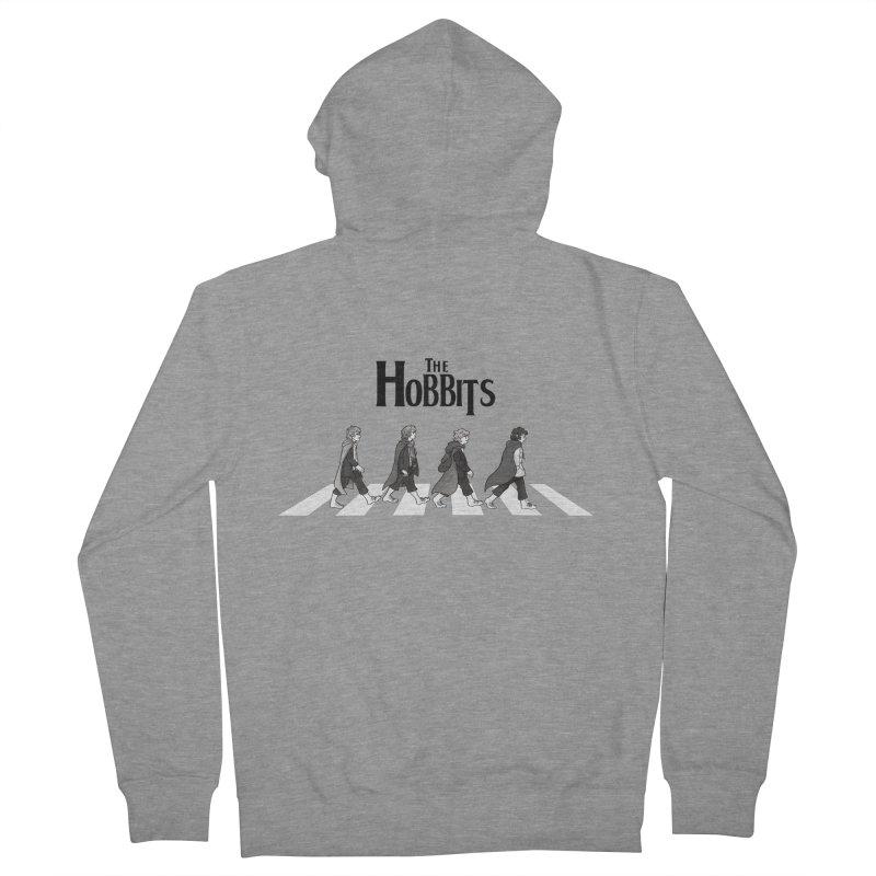 Hobbit Road Men's Zip-Up Hoody by Vanessa Stefaniuk's artist shop