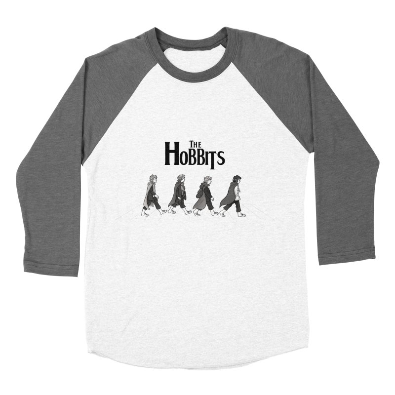 Hobbit Road Men's Baseball Triblend T-Shirt by Vanessa Stefaniuk's artist shop