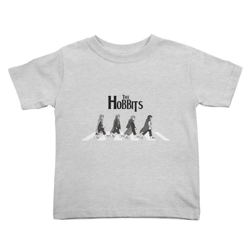 Hobbit Road Kids Toddler T-Shirt by Vanessa Stefaniuk's artist shop