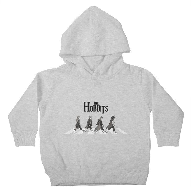 Hobbit Road Kids Toddler Pullover Hoody by Vanessa Stefaniuk's artist shop