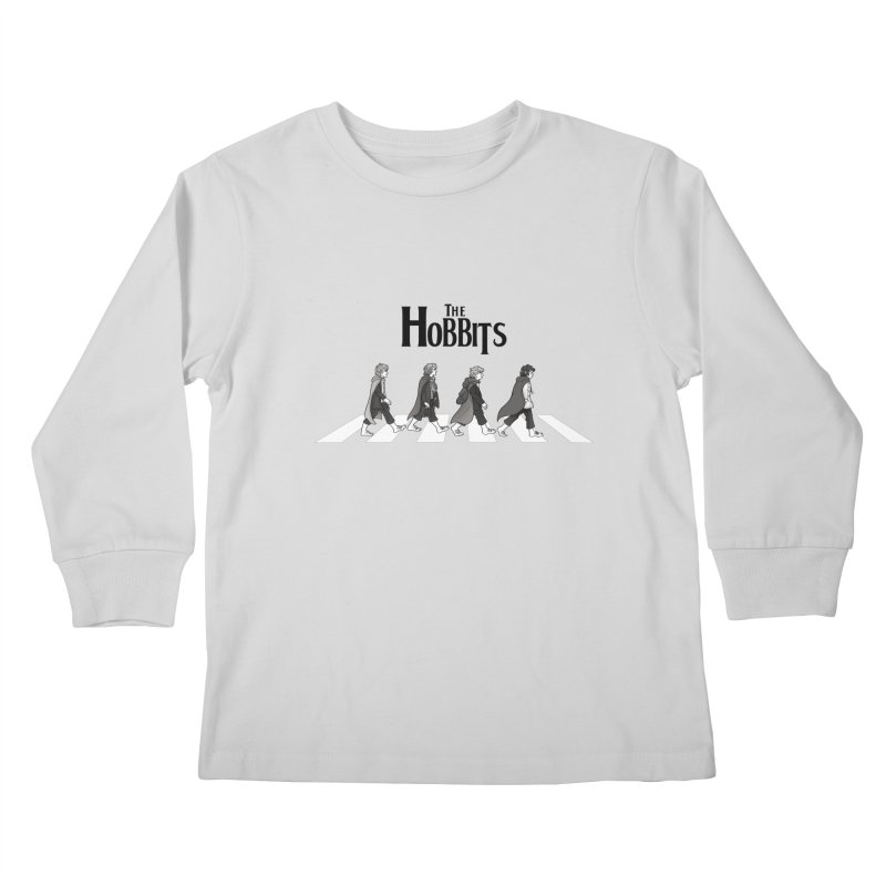 Hobbit Road Kids Longsleeve T-Shirt by Vanessa Stefaniuk's artist shop