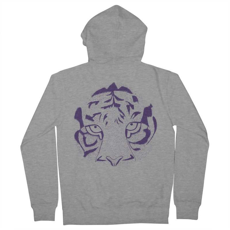 Tiger Women's Zip-Up Hoody by RAIDORETTE's Shop