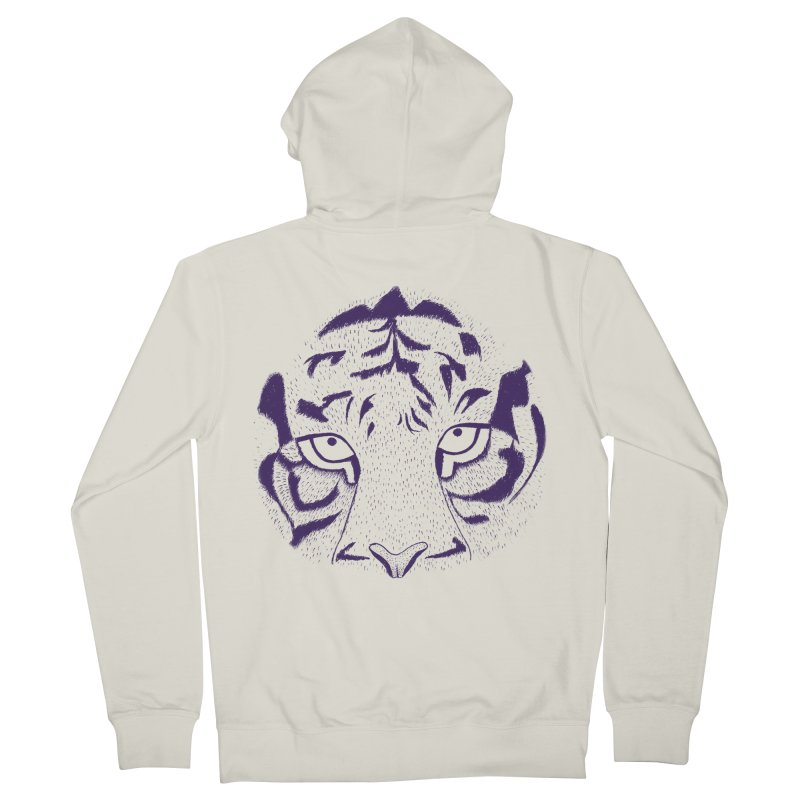 Tiger Men's Zip-Up Hoody by RAIDORETTE's Shop