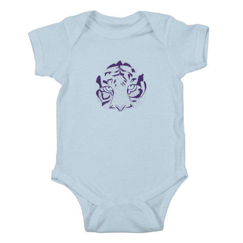 Tiger Kids Baby Bodysuit by RAIDORETTE's Shop