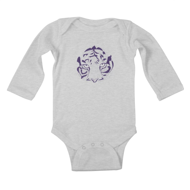 Tiger Kids Baby Longsleeve Bodysuit by RAIDORETTE's Shop