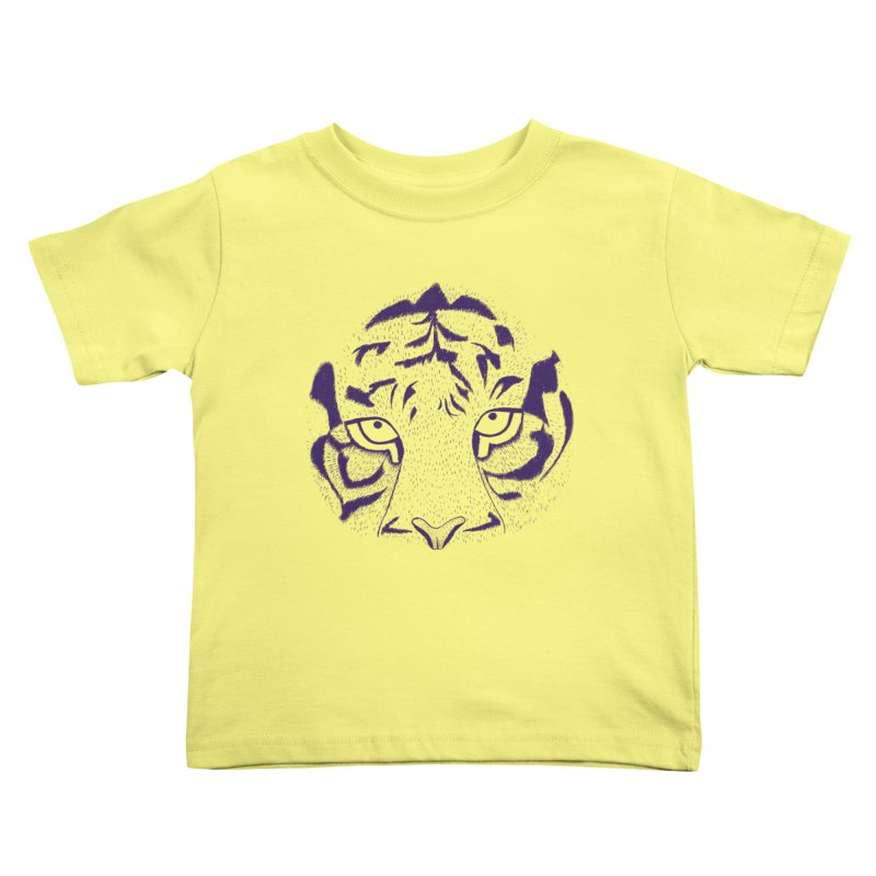 Tiger Kids Toddler T-Shirt by RAIDORETTE's Shop