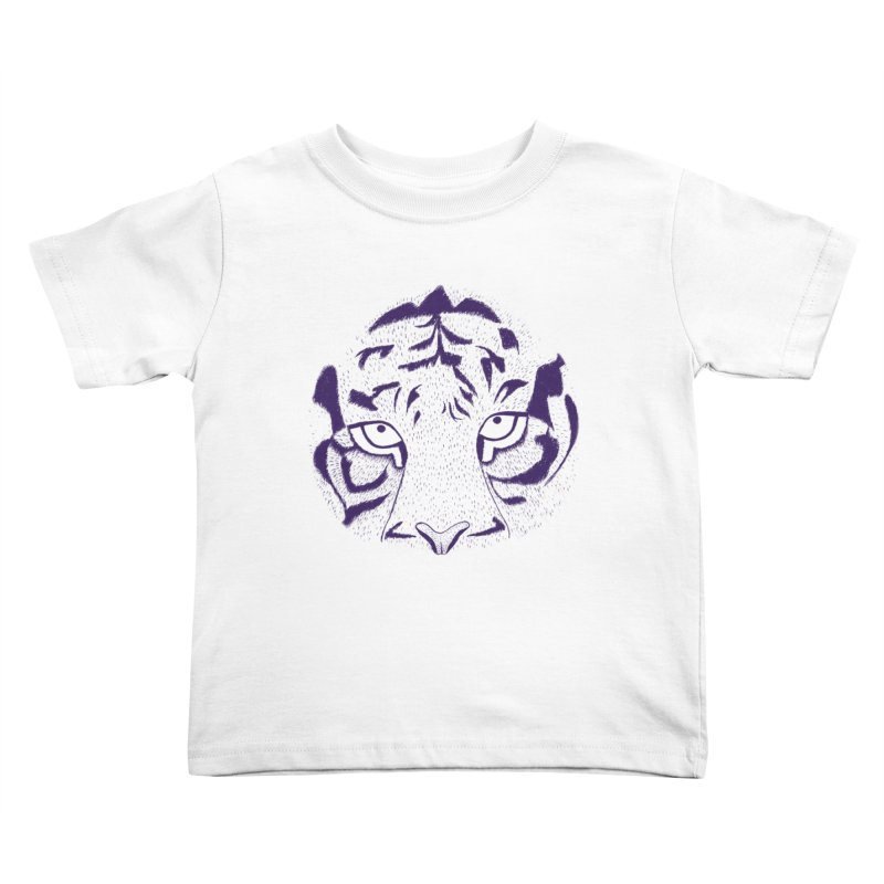 Tiger Kids Toddler T-Shirt by RAIDORETTE's Shop