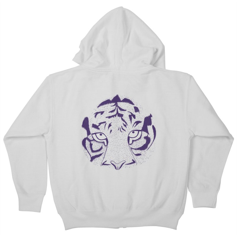 Tiger Kids Zip-Up Hoody by RAIDORETTE's Shop