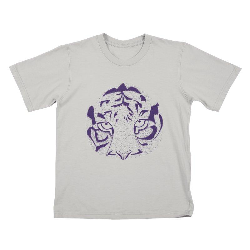 Tiger Kids T-Shirt by RAIDORETTE's Shop