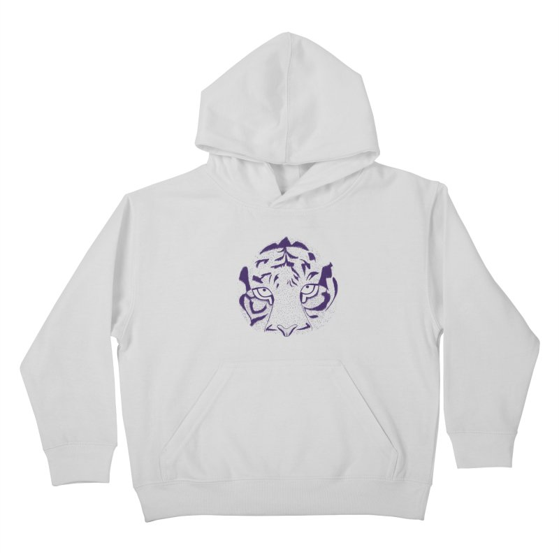 Tiger Kids Pullover Hoody by RAIDORETTE's Shop