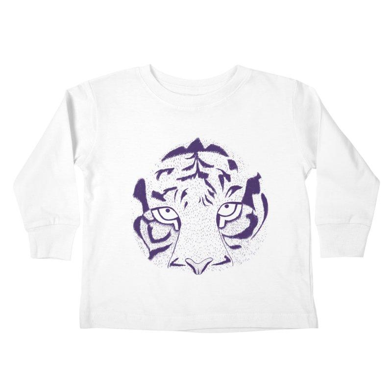Tiger Kids Toddler Longsleeve T-Shirt by RAIDORETTE's Shop