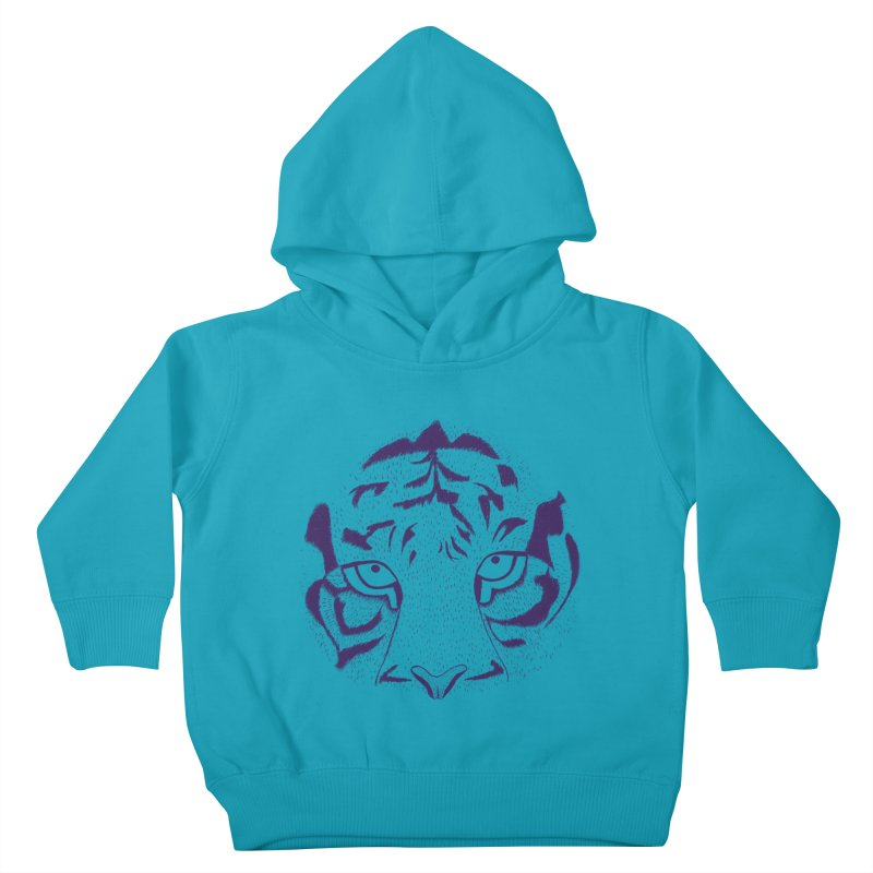 Tiger Kids Toddler Pullover Hoody by RAIDORETTE's Shop