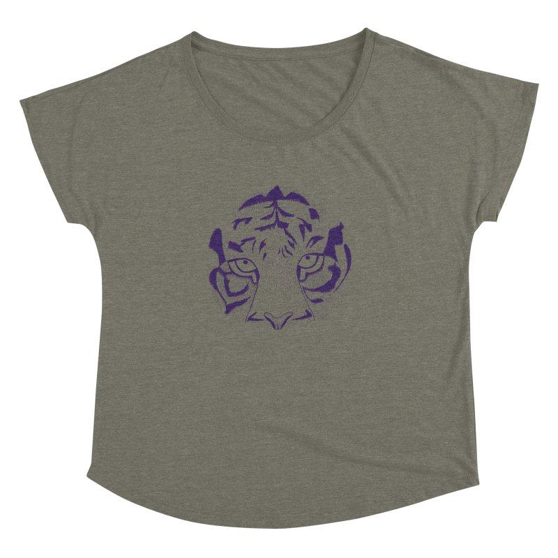 Tiger Women's Dolman by RAIDORETTE's Shop
