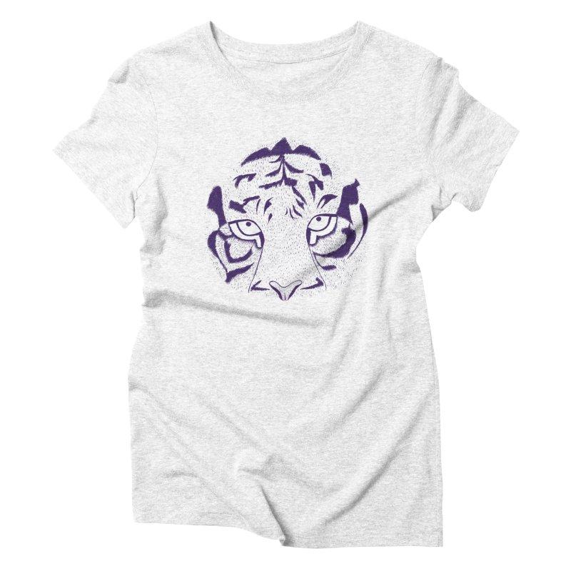 Tiger Women's Triblend T-shirt by RAIDORETTE's Shop