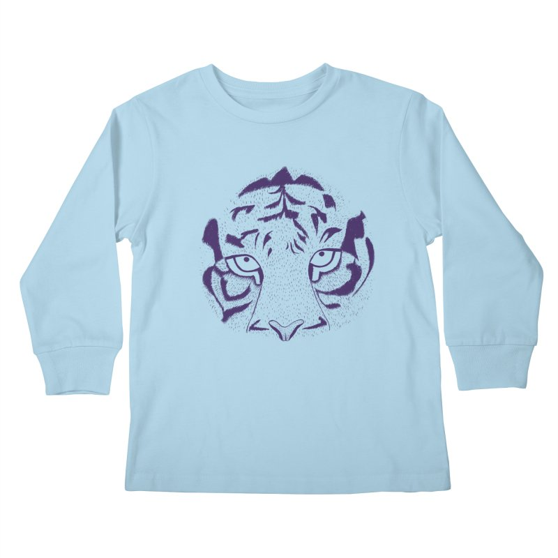 Tiger Kids Longsleeve T-Shirt by RAIDORETTE's Shop