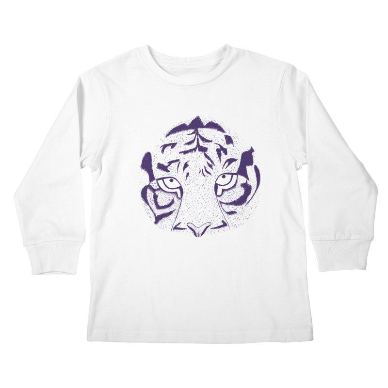 Tiger Kids Longsleeve T-Shirt by RAIDORETTE's Shop