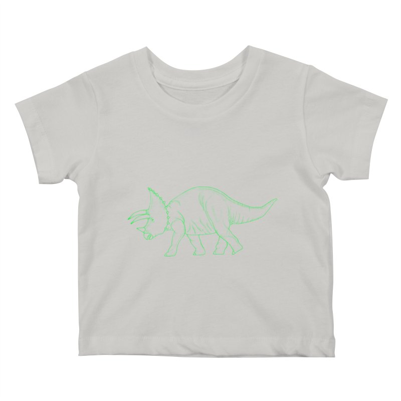 Triceratops Kids Baby T-Shirt by RAIDORETTE's Shop