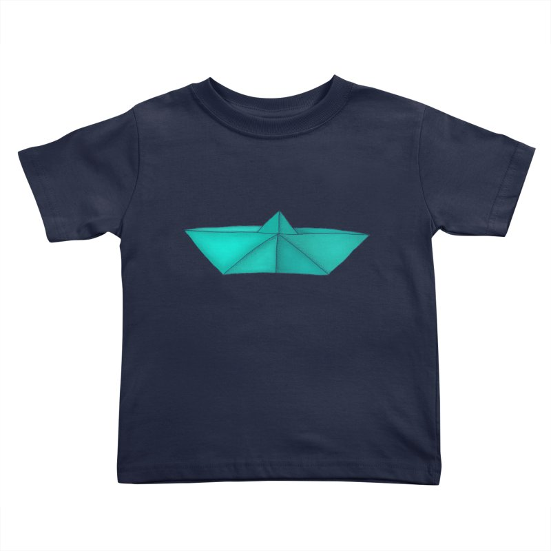 Turquoise Paper Boat   by RAIDORETTE's Shop