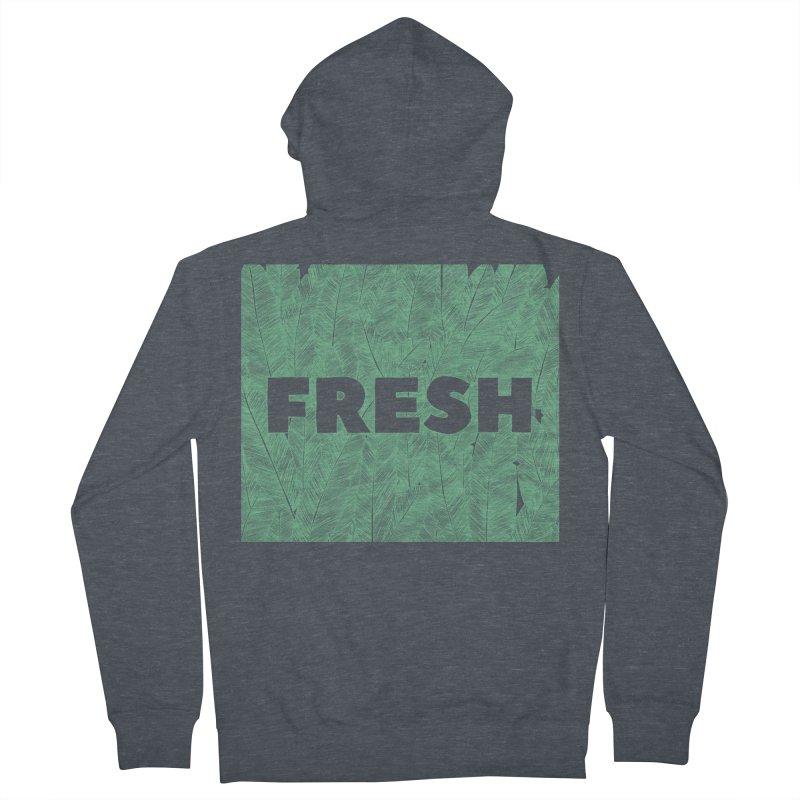 Fresh Men's Zip-Up Hoody by RAIDORETTE's Shop