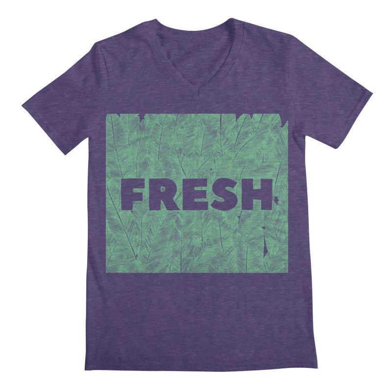 Fresh Men's V-Neck by RAIDORETTE's Shop