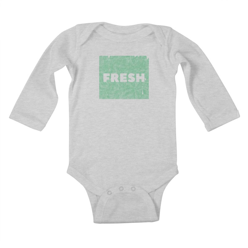 Fresh Kids Baby Longsleeve Bodysuit by RAIDORETTE's Shop