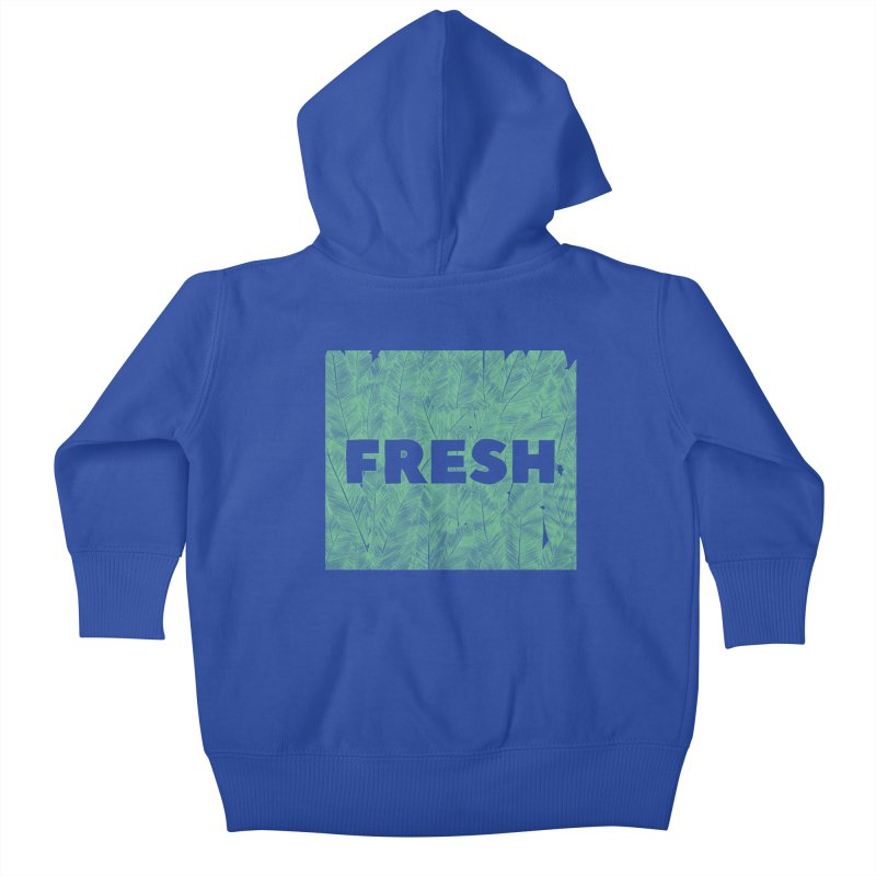 Fresh Kids Baby Zip-Up Hoody by RAIDORETTE's Shop