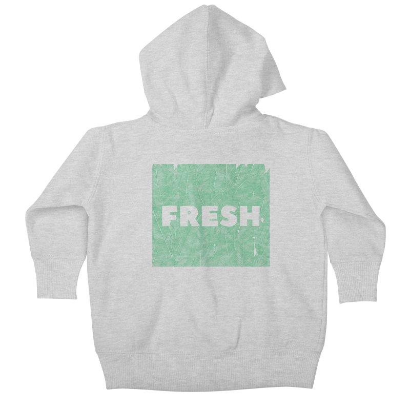 Fresh Kids Baby Zip-Up Hoody by RAIDORETTE's Shop
