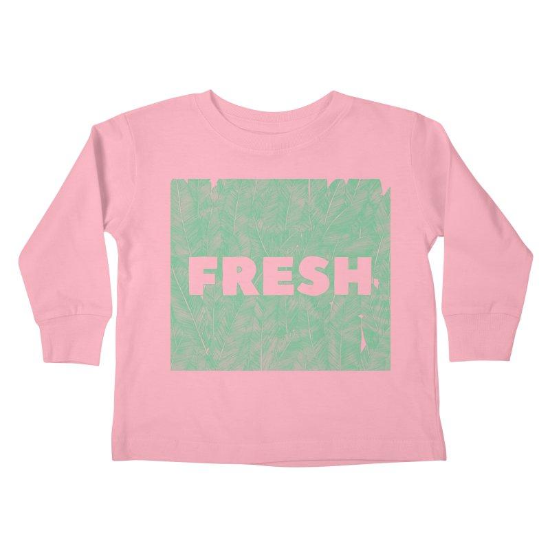 Fresh Kids Toddler Longsleeve T-Shirt by RAIDORETTE's Shop