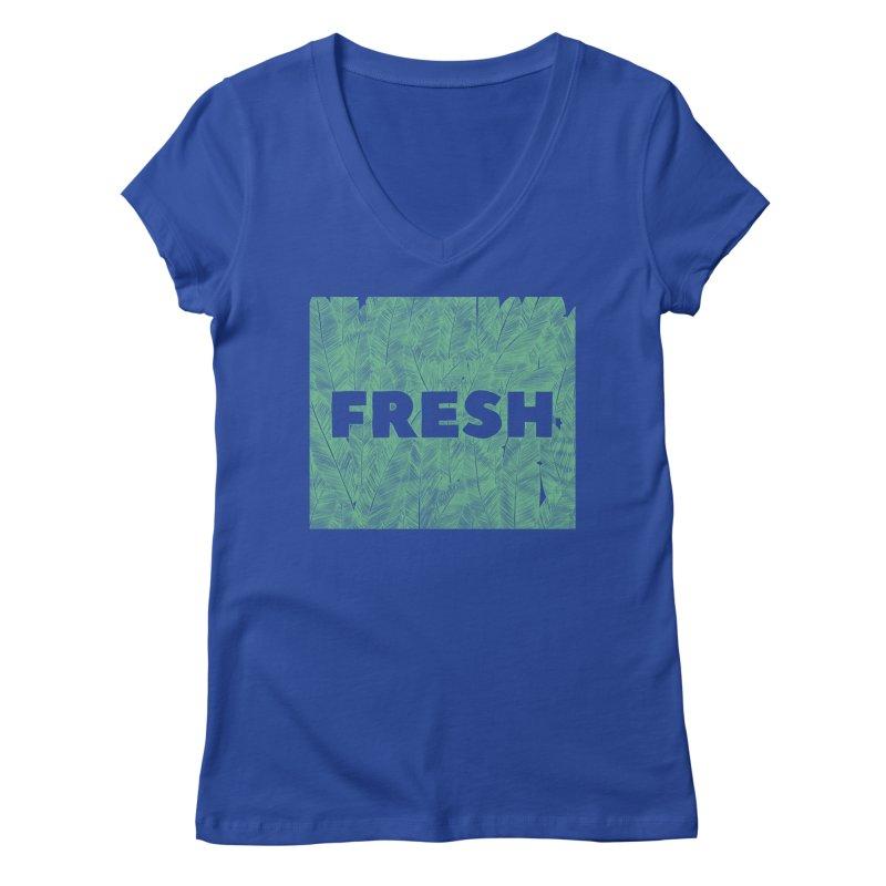Fresh Women's V-Neck by RAIDORETTE's Shop