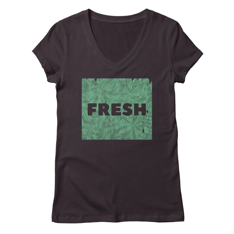 Fresh Women's V-Neck by RAIDORETTE's Shop