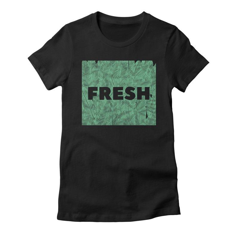 Fresh Women's Fitted T-Shirt by RAIDORETTE's Shop
