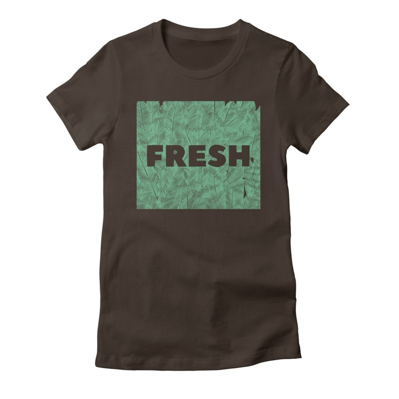Fresh Women's Fitted T-Shirt by RAIDORETTE's Shop