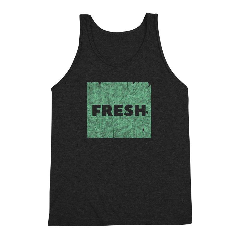 Fresh Men's Triblend Tank by RAIDORETTE's Shop
