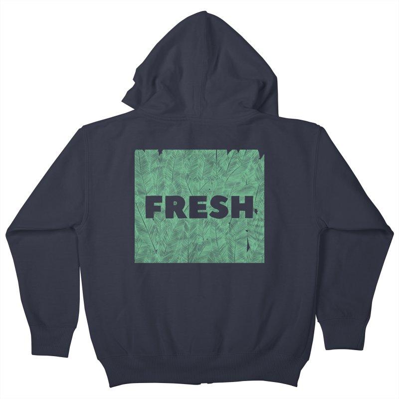 Fresh Kids Zip-Up Hoody by RAIDORETTE's Shop